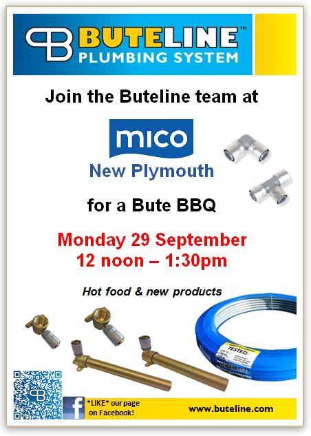 Bute BBQ @ Mico New Plymouth on Mon 29 Sep 2014