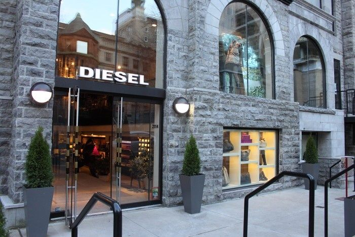 Diesel Stores, Downtown Locations, Montreal Flagship, Flagship Diesel