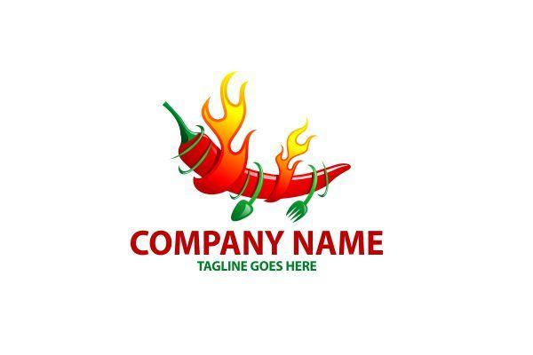 Logo For Sale Hot Chilli Restaurant Food Logo Design Logo Food Spice Logo