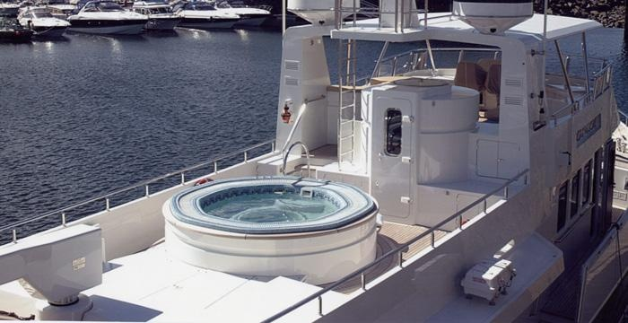 Yes, Ideales Spas can be installed in boats also! Impressive!