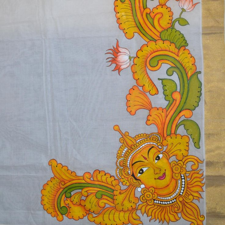 38 best mural images on pinterest mural painting murals for Aithihya mural painting fabrics