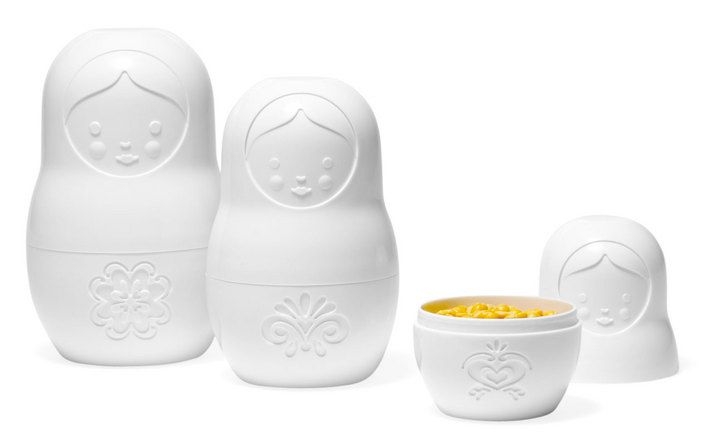 33 Gift Ideas for the Health Nut: Fred M-Cups Matryoshka Doll Measuring Cups Set, $12