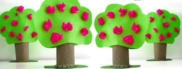 Resultado de imagen de manualidades bosque para niños