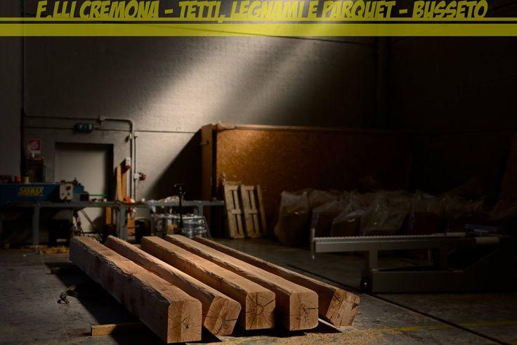 Travi in rovere con spigolo antichizzato!! oak rovere tetto in legno wooden roof impregnante