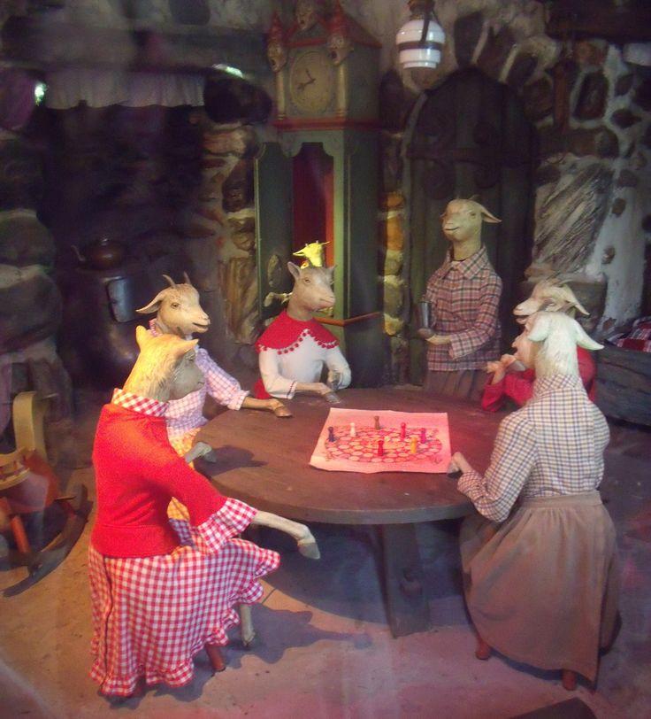 De Efteling, the seven goats