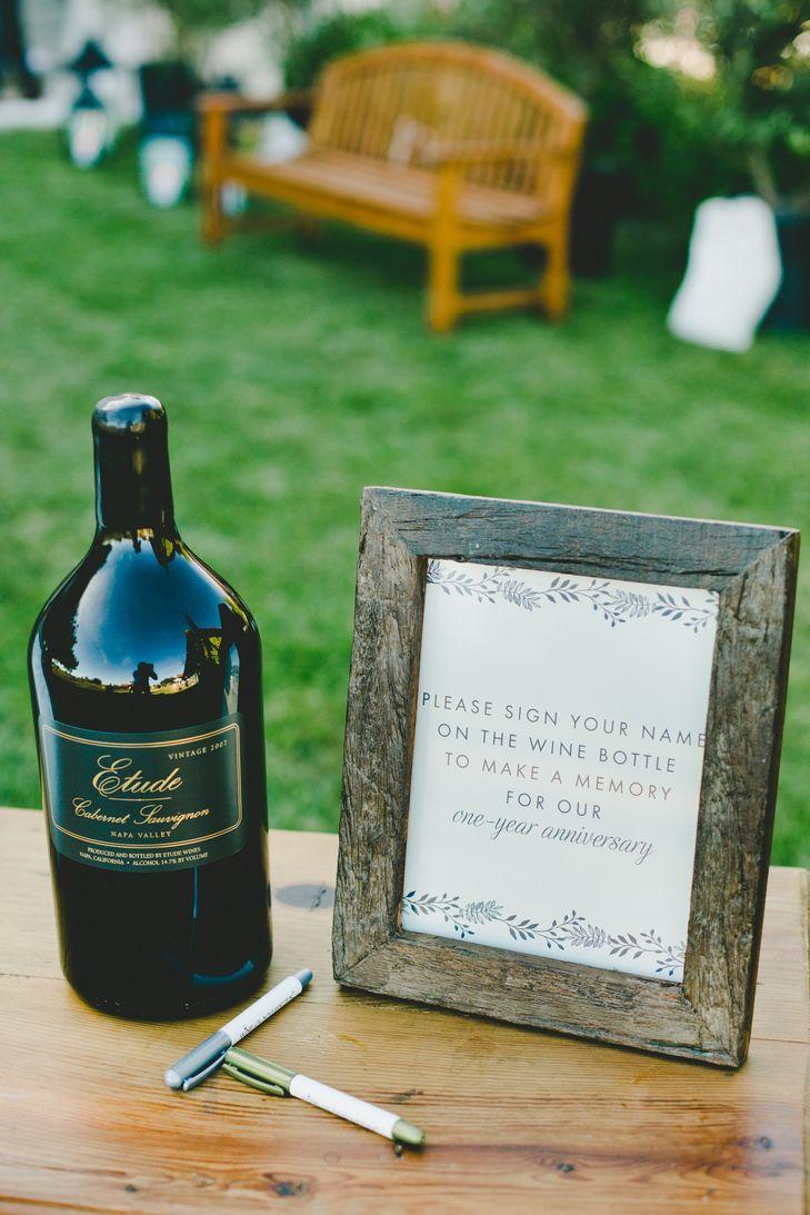 Wine bottle guest book alternative 215 best
