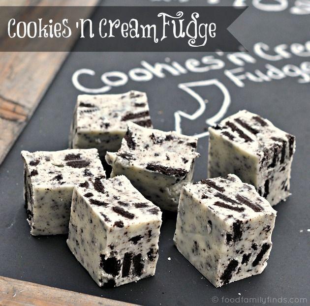 Cookies n Cream Fudge Recipe