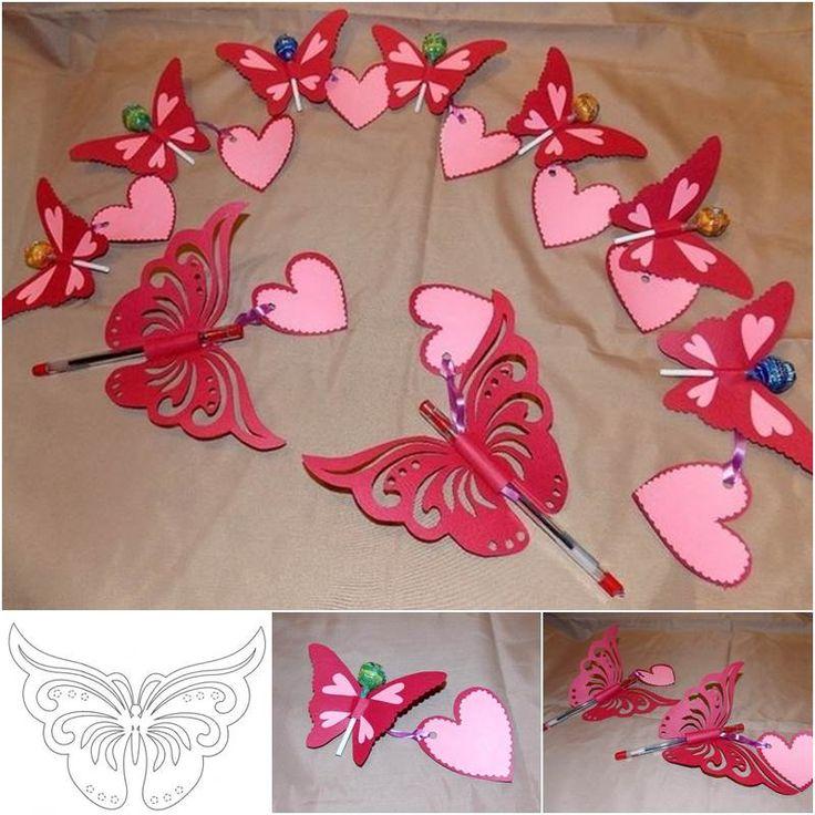 Creative Ideas - DIY Pretty Kirigami Butterfly Postcard from Template   iCreativeIdeas.com Follow Us on Facebook --> https://www.facebook.com/iCreativeIdeas
