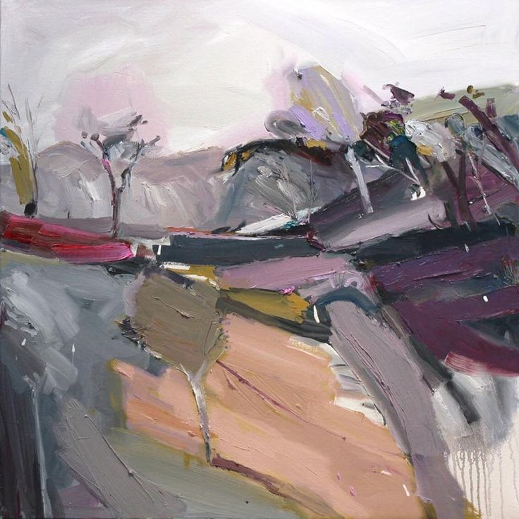 """creek bed"" Going bush this time. What more is there to see? #modernart #artcollector #artistlife"