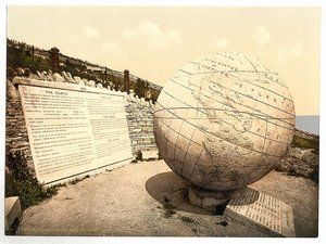 Coast Path Dorset - Durlston Head Globe