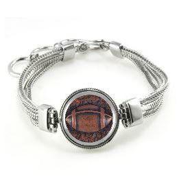 Football Bracelet Football Jewelry Football by NSCJewels
