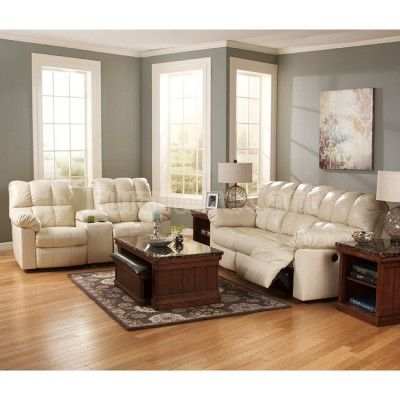 Kennard Cream Living Room Set W Power Part List Price 2 Ashley Fu