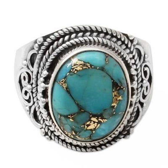 DANIEL STEIGER Turquoise Charme Bracelet Set en argent sterling 925