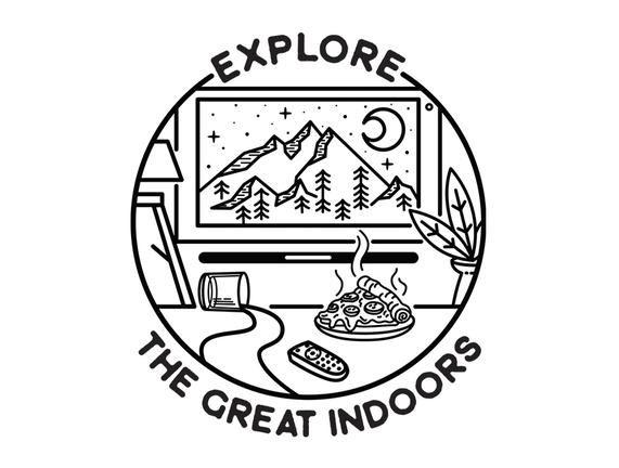 The Great Indoors – TeeFury