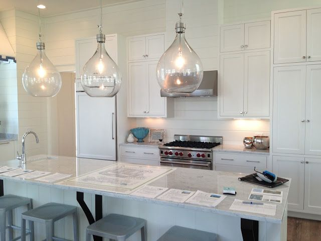 Cheeky In Blue Vent Hoods With 12 Foot Ceilings At Beach Cheeky White Kitchen Design Kitchen Cabinets Decor Kitchen Design
