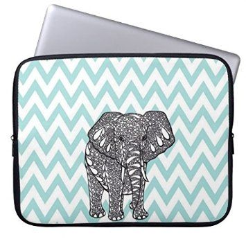 "ELP Fashion Cute Cartoon Elephant Neoprene Laptop Soft Sleeve Case Bag Pouch Cover for 13"" Macbook Pro / Air HP Dell Acer: Amazon.co.uk: Computers & Accessories"