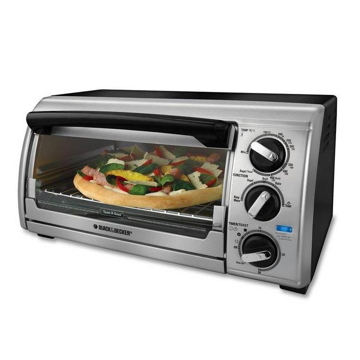 black and decker countertop oven