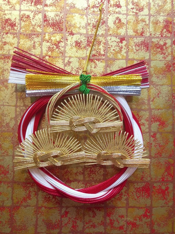 New year decoration ・・・Pine  ㈲ながさわ結納店 #japan #mizuhiki #wedding #yuino #fukuoka#hakata