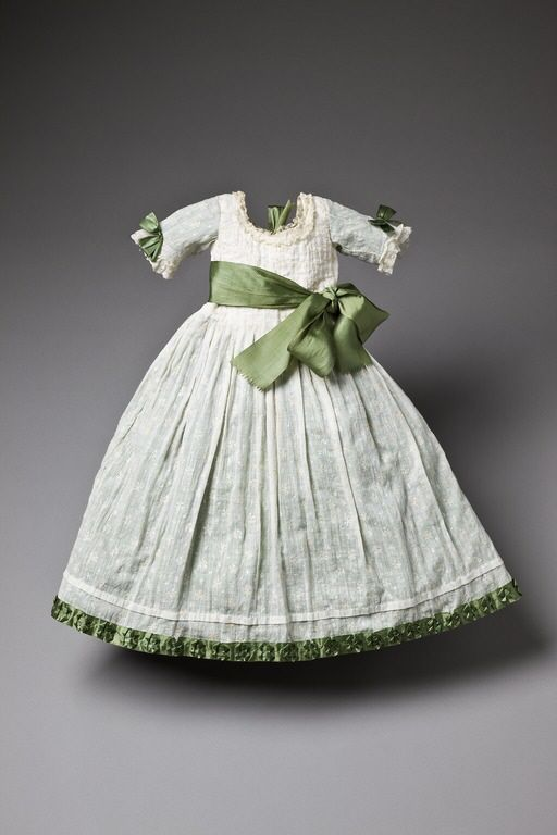 Child's dress, 1775, Swedish, worn by Gustav of Sweden, via Royal Armoury Collection, Sweden