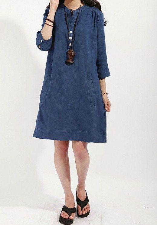 Lagenlook Summer half sleeve Dressmore colour and by thesimpson