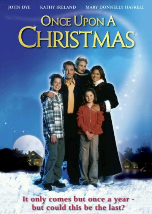 Once Upon A Christmas, I love this one! I haven't seen it in years. I hope it comes on again before Christmas! On the Hallmark Channel.