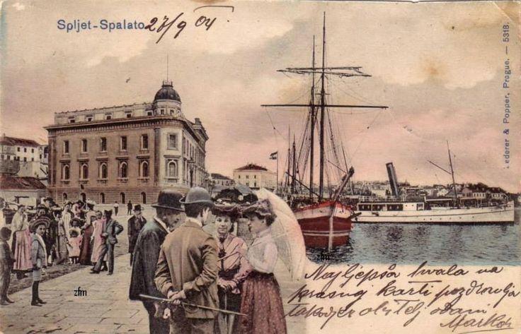 autor: XVII, misto radnje: Split: split nekad - lučka kapetanija