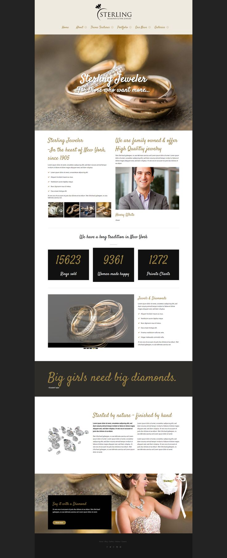 Sterling - a #Jeweler #WordPress #Theme