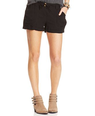 American Rag Cuffed Shorts - Juniors Shorts - Macy's