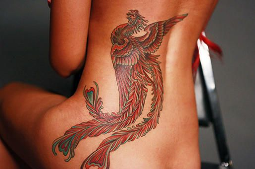 A rising phoenix from Ami James.