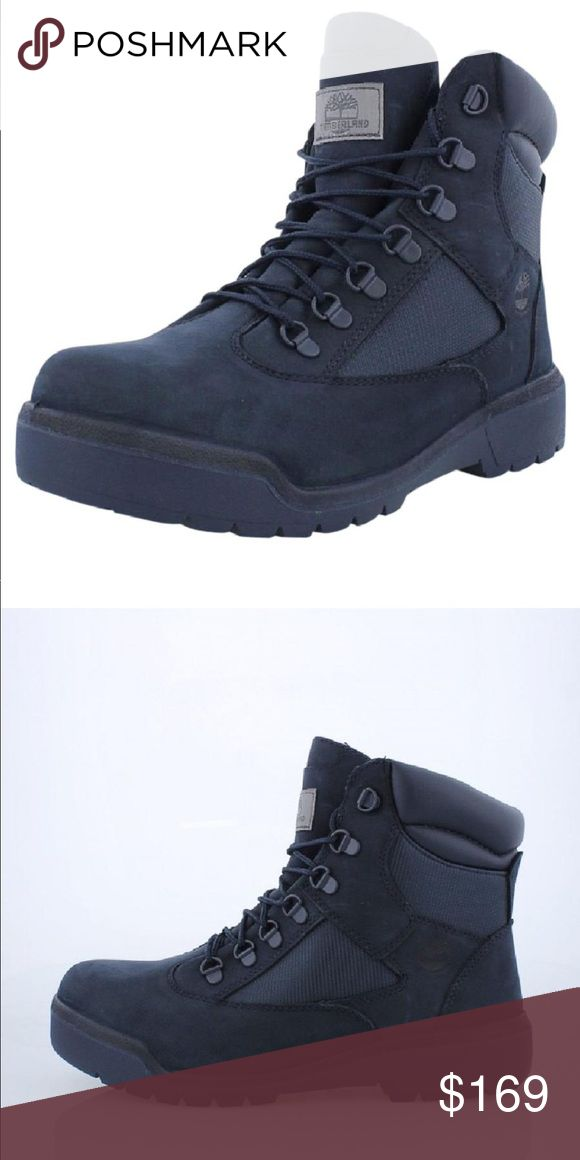 TIMBERLAND FIELD BOOT 6 INCH FIELD BOOT TIMBERLAND FIELD BOOT 6 INCH FIELD BOOT  Color Navy Blue New In Box Smoke Free Pet Free Home Timberland Shoes Boots