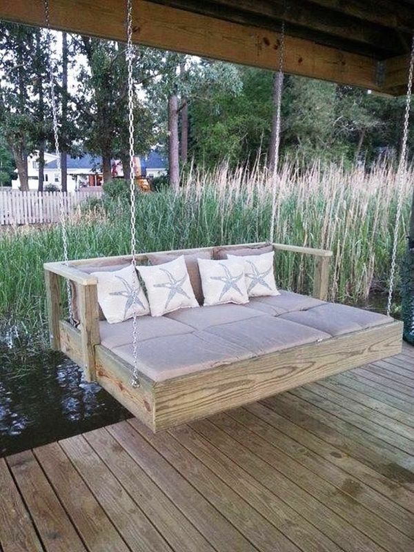 40 Things You Can Do With An Old Mattress Pallet Swing Beds