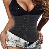 Hourglass Waist Trainer Corset Fat Burner Tummy Cincher Control Workout Sport for Weight Loss (L(2-3 Days Delivery), Black) - https://www.trolleytrends.com/?p=732821