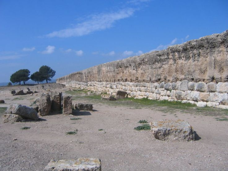 Roman Wall - Empúries 2005-03-27 - Hispania romana - Wikipedia, la enciclopedia libre