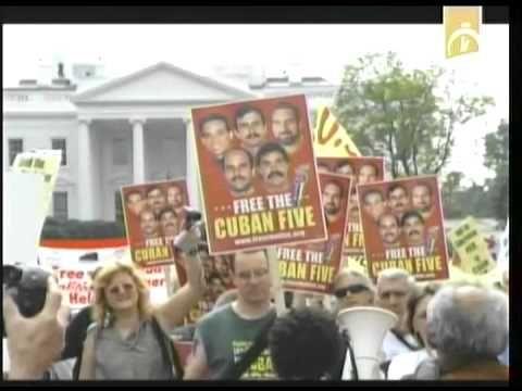 Realizarán en Washington jornada de solidaridad con la causa de Los Cinco
