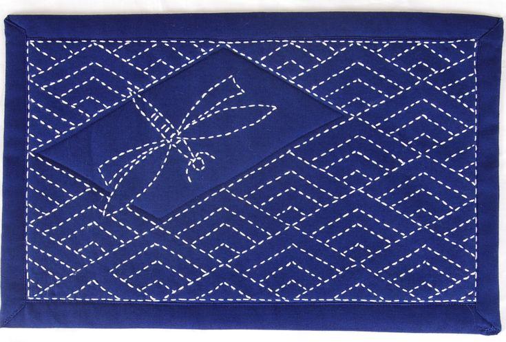 sashiko designs | Why Sashiko Designs Don't Bore Your Brain | Sashiko Stitchers