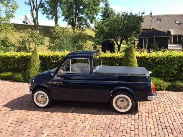 Fiat Custom Pick Up Little Cars Pinterest Fiat Cars
