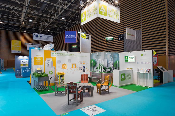 H2C Events réalise le stand Alliance Carton Nature (ACN) sur le salon Pollutec 2016 à Eurexpo Lyon.
