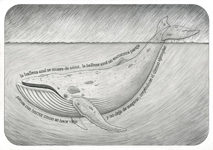 """La ballena azul #1"" (2011)"