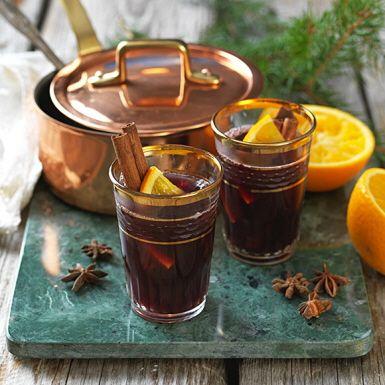 Recept: Vin chaud med apelsin