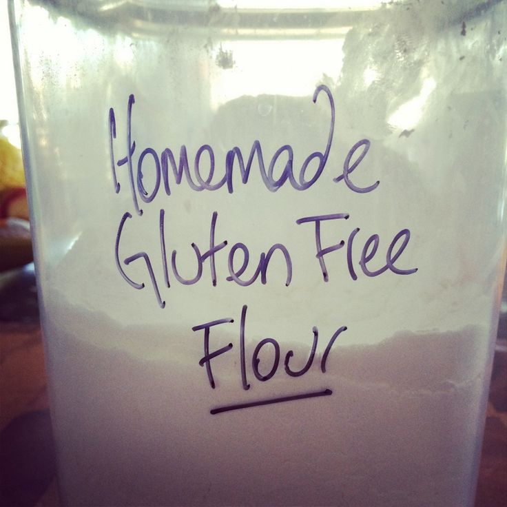 Gluten Free Flour Mix - The Strands Of Me