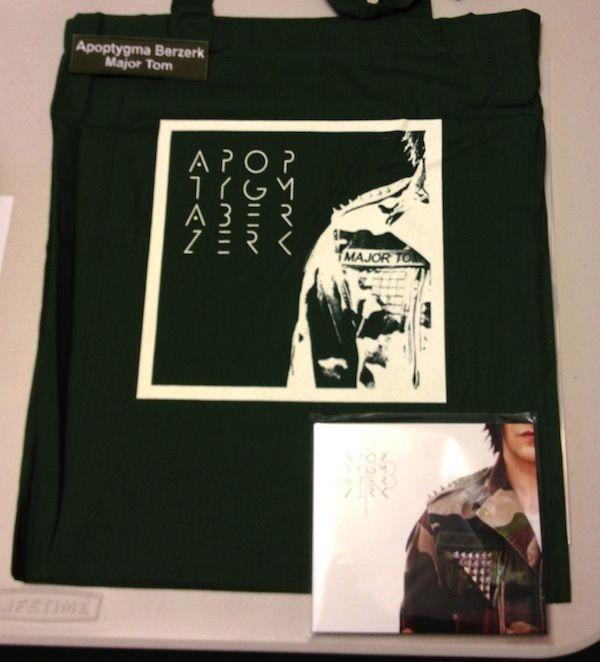 Major Tom - APOPTYGMA BERZERK Ltd 99! EBM covenant and one vnv nation de/vision depeche mode
