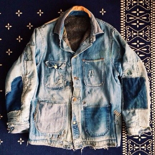 bandannawanderings: #btwxtba Denim Blanket Lined Hobo Jacket. @naritabby