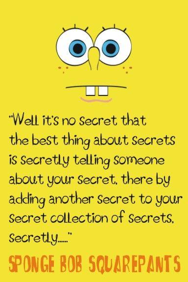 Los secretos según Bob Esponja