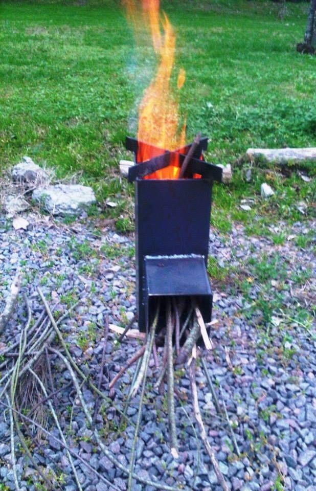 65 best images about rocket stoves on pinterest stove - Cocina a lena ...