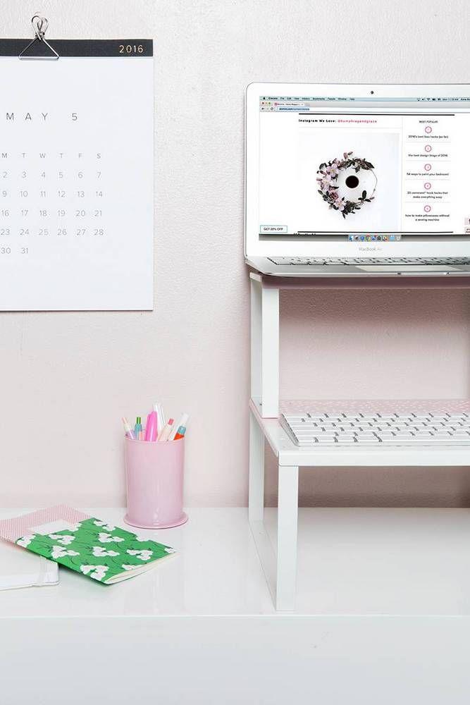 1000 ideas about diy standing desk on pinterest standing desks stand up desk and standing. Black Bedroom Furniture Sets. Home Design Ideas