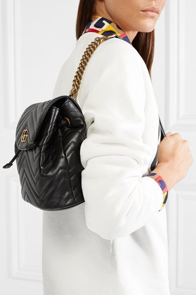 2d2b5c1be26 Gucci - GG Marmont quilted leather backpack