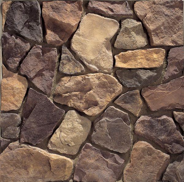 Country Rubble cladding (in Cognac) - El Dorado Stone | Hardscapes - Emco Block (Maryland)