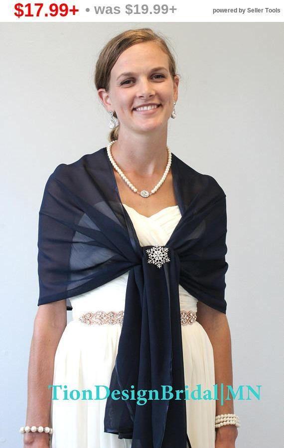 Bridal Stola Chiffon Scarf Stole