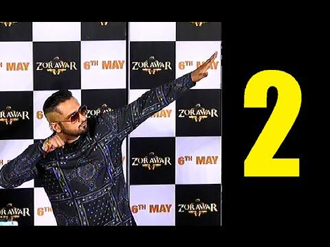 UNCUT trailer launch of ZORAWAR movie | Yo Yo Honey Singh, Bani | PART 2