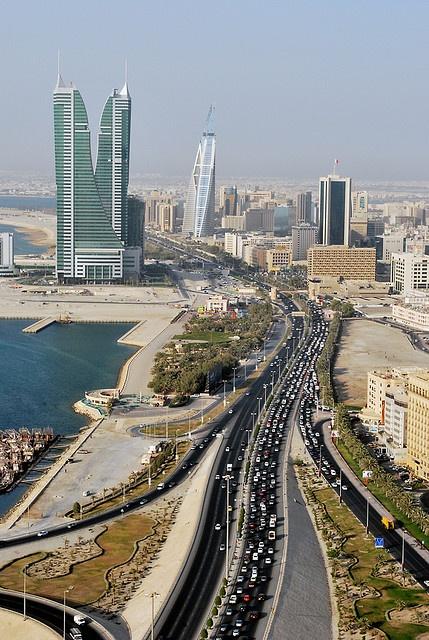 Looking from the Seef area towards Manama back in June 2008: Arabian Peninsula, Manama Bahrain, Arabic Peninsula, Bahrainmanama, Cities Visit, Asia, Cities Middle East, Bahrain Manama, Cities Manama